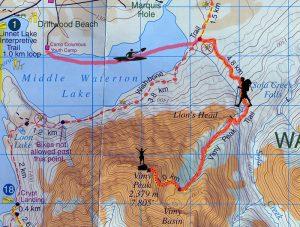 Vimy Peak, Waterton